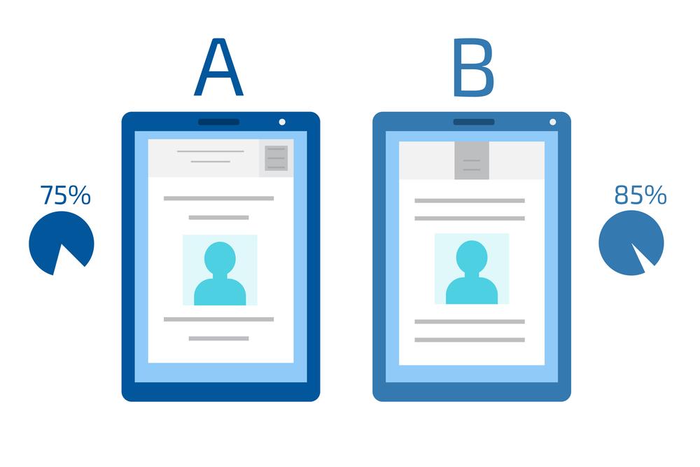 exemple de test A/B pour augmenter les ventes sur votre site. site-actif